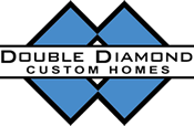 Double Diamond Custom Homes Logo